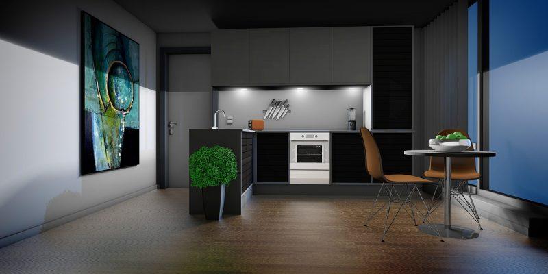 stalen keuken
