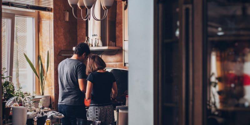 gesloten keuken
